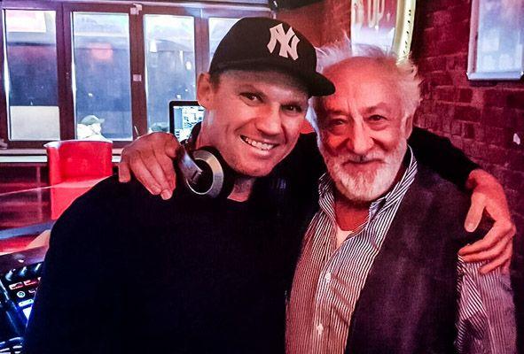 DJ Oliver Knist und Dieter Hallervorden