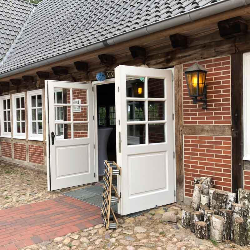 Location Empfehlung Landhaus Haverbeckhof Eingang
