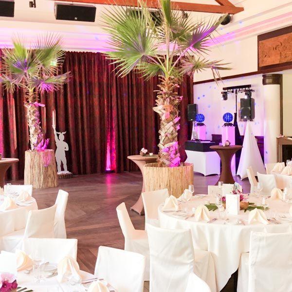 Hochzeit Location Empfehlung Lindner Park Hotel Hagenbeck Saal mit Anlage