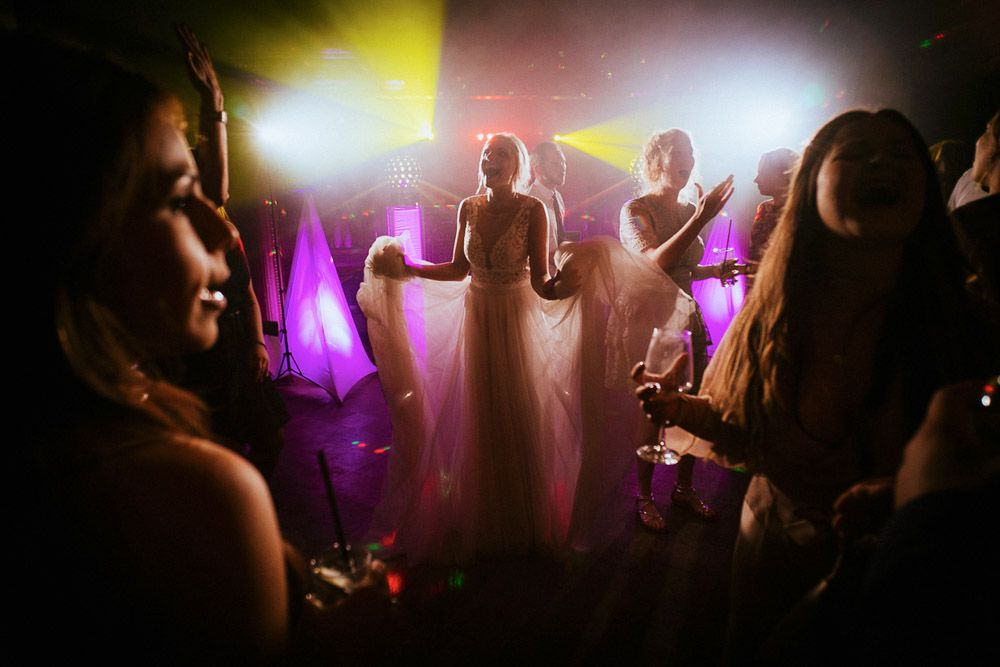 Hochzeit Party Fotografiert von Mann und Frau Schmidt
