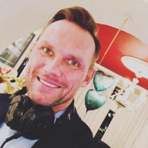 DJ Oliver Knist im Alsterpark
