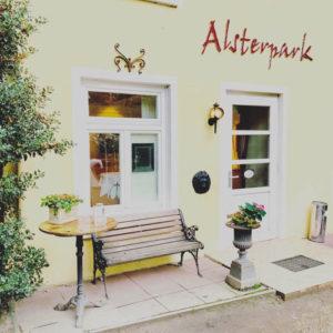 Location Empfehlung Restaurant Alsterpark Hamburg Eingang
